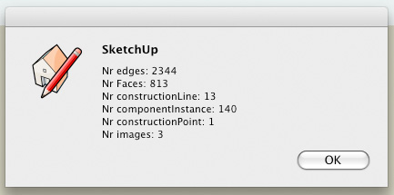 Counting types of entities in Sketchup with Ruby API